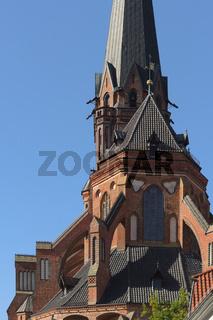 Lüneburg - St. Nicolai-Kirche, Deutschland