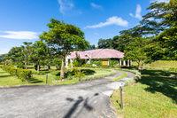 Panama Boquete villa with tropical garden