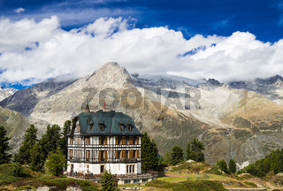 Villa Cassel Schweizer Alpen Wallis Schweiz