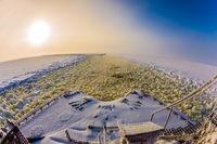 Excursion to the Arctic sea icebreaker