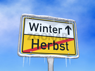 Der Winter beginnt