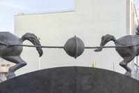 Magdeburg Vacuum Experiment Monument
