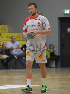 Andreas Rojewski (SC Magdeburg) DHB-Pokal 2014/15 2.Runde Eintracht Hildesheim-SC Magdeburg