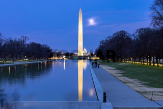 Washington Monument night