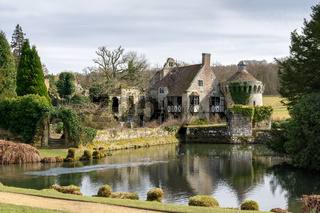 View of a Building on the Scotney Castle Estate