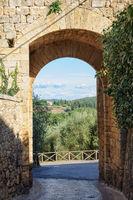 Florentine Gate - Monteriggioni