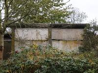 Mahnmal gegen das  Vergessen in Teschow - Betonelemente der ehemaligen  DDR-Grenzmauer