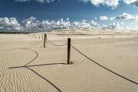 sand dunes in Leba, Poland