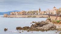 Cityscape Alghero, Sardinia, Italy