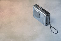 Vintage analog micro cassette tape recorder (Dictaphone)