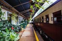 Kuranda Train Station in Queensland Australia