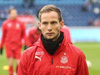 deutscher Fussballer Rene Lange von FSV Zwickau DFB 3.Liga Saison 2019-20