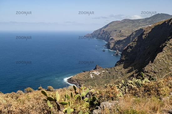 Küste auf La Palma, Kanarische Inseln, Spanien