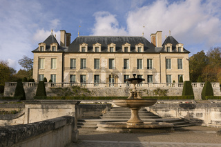 Castle of Auvers-sur-Oise, Val-d'Oise, France