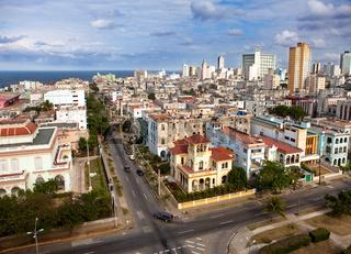 Cuba. Old Havana. Top view.