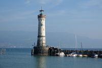 Leuchtturm and lighthouse in Lindau am Bodensee