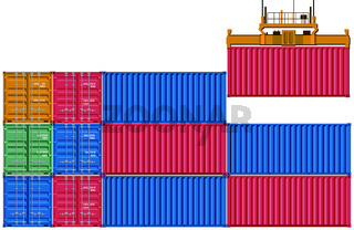 Container Verladung.eps