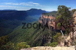 Grose Valley Blue Mountains Australia