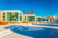 Magnificent hotel in Lapland