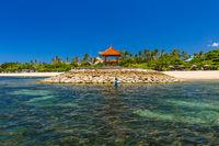 Nusa Dua Beach in Bali Indonesia