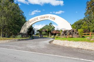 Paama Boquete country club entrance