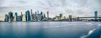 new york city skyline manhattan panorama view