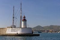 Hafeneinfahrt Eivissa