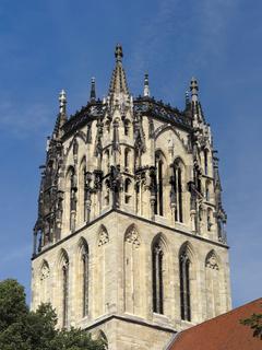 Münster - Überwasserkirche, auch Liebfrauenkirche genannt, Deutschland