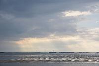 Abend im Wattenmeer