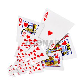 Playing cards poker casino
