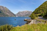 Eldfjord, Hordaland in Norway