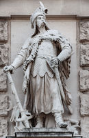 Hungarian chieftain in Hofburg Palace, Vienna