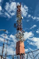 Radio communcations tower