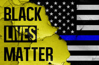 Black Lives Matter & Blue lives matter
