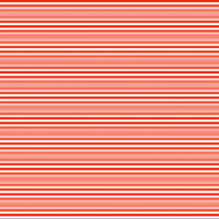 Horizontal stripes in white and red