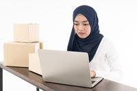 muslim online merchant selling