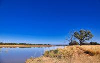 Landschaft am Luangwa, South Luangwa Nationalpark, Sambia | landscape at the Luangwa River, Zambia