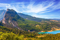 Canyon and river Verdon