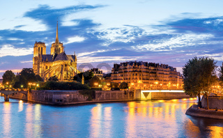 Notre Dame Cathedral Panorama