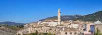 Panoramic image Picturesque Bocairent village, Spain