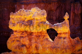 Detail from Bryce Canyon Southern Utah