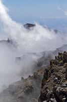 Nebel im Gebirge auf La Palma