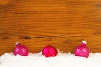 3 Weihnachtskugeln