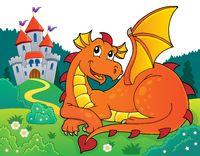 Lying dragon theme image 3