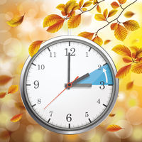 Standard Time Change Autumn Foliage Fall Beech