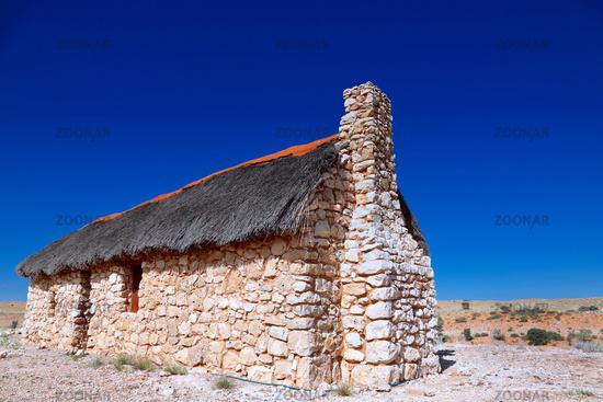 Museum Auchterlonie im Kgalagadi-Transfrontier-Nationalpark, Südafrika   Museum Auchterlonie at Kgalagadi Transfrontier National Park, South Africa