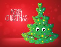 Merry Christmas composition image 1