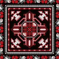 Romanian traditional pattern 223