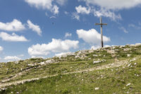 Gipfelkreuz auf der Hochries, Bayern