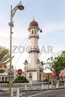 Die Kapitan-Keling-Moschee ist eine Hauptattraktion von George Town, Penang